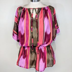 attention Tops - Attention Off the Shoulder Tunic